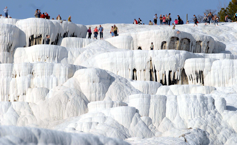 Pamukkale Fotoğrafları Tatil Rehberi Tatilpanosu Net