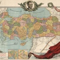 1927 Eski Türkiye Haritası