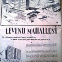 Eski İstanbul Levent Fotoğrafları